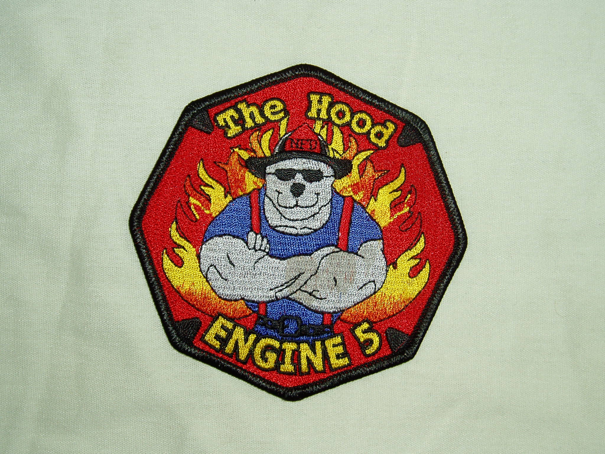 Engine 4 Company Patch